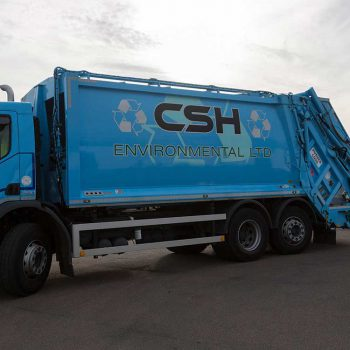 CSH Environmental waste removal truck