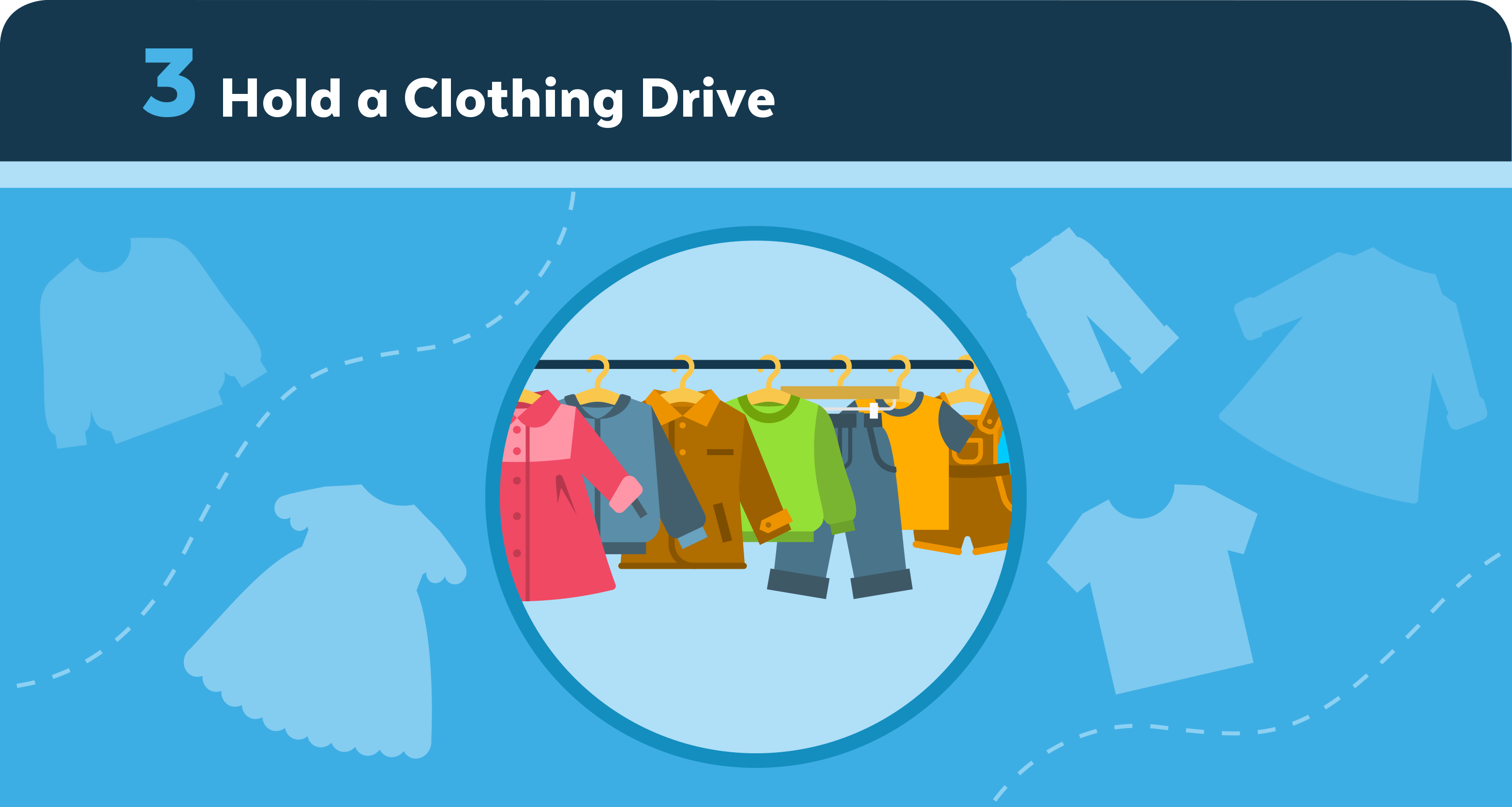 Hold a Clothing Drive