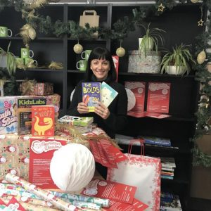 Gemma-Aylesbury with CSH food donations